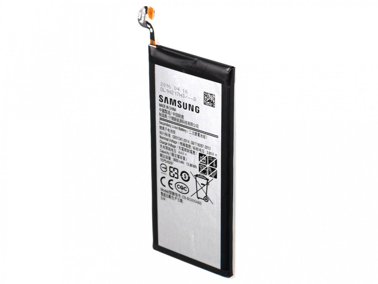 Original акумулятор з NFC для Samsung G935 Galaxy S7 Edge (батарея, АКБ, NFC) EB-BG935ABE, Original
