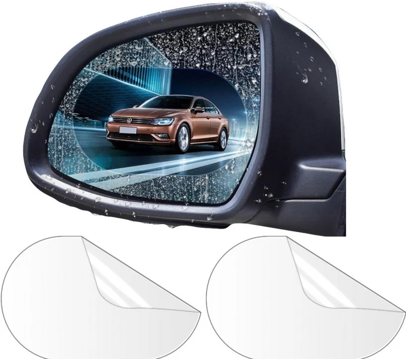 Защитная пленка Антидождь на боковые зеркала автомобиля 100*145 MM