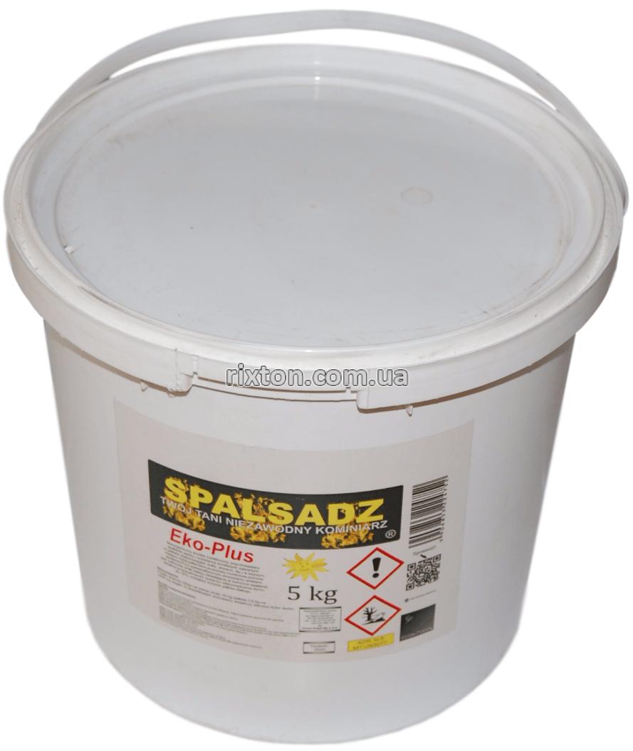 Очищувач димоходу від сажі SPALSADZ в банці (5кг) / Очищувач димоходу від сажі SPALSADZ в банку (5кг)