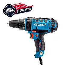 Дриль шуруповерт мережевий Sturm ID2155P, 550 Вт, 2 швидкості, професійний