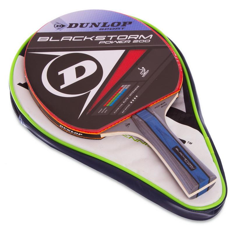 Ракетка для настільного тенісу 1 штука в чохлі DUNLOP MT-679202