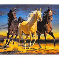 """Алмазная живопись """"Лошади"""" 40*50 см"""