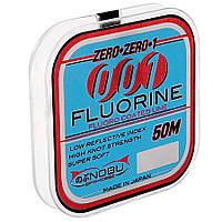 Леска Lineaeffe NOBU Pro-Cast 001 Fluorine 0.12мм 50м FishTest-1.27кг (прозрачная) Made in Japan