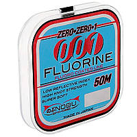 Леска Lineaeffe NOBU Pro-Cast 001 Fluorine 0.16мм 50м FishTest-3.55кг (прозрачная) Made in Japan