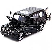 Игрушка машина Автопром Мерседес Бенц (Mercedes-Benz) Чёрный блестящий. Гелендваген (Гелик) (3201G), фото 8