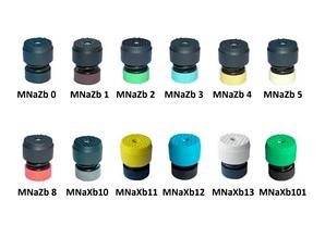 Телескопические виброопоры серии MNa