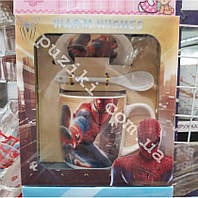 Подарочная керамическая чашка для мальчиков Человек Паук