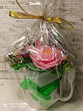 """Подарочное мыло """"Букет розовых роз"""", фото 7"""