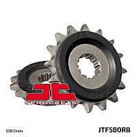 Звезда передняя с резиновой вставкой JT Sprockets JT JTF580.16RB