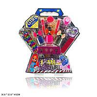 """Детский игровой набор для маникюра """"LOL"""" E220, лаки, пилочки, помада, резинки"""
