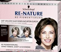 Re-Nature Re-Pigmentierungs-Creme Dunkel Frauen - Крем-восстановитель цвета волос, тёмный оттенок