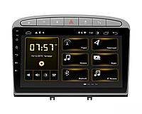 "Автомагнитола штатная Incar DTA-7003 Peugeot 308 07-13, 408 2011+ Silver Android 10 9""+Navi"