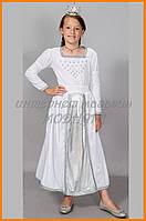 Карнавальное платье Золушка Снегурочка | Дитяче плаття Попелюшки