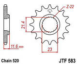 Звезда стальная передняя JT Sprockets JT JTF583.13, фото 2