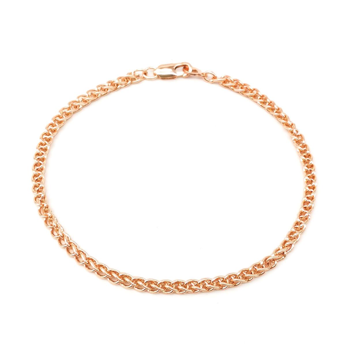 """Браслет """"Колос"""" SONATA из медицинского золота, позолота 18К, 52102                                     (20 см)"""