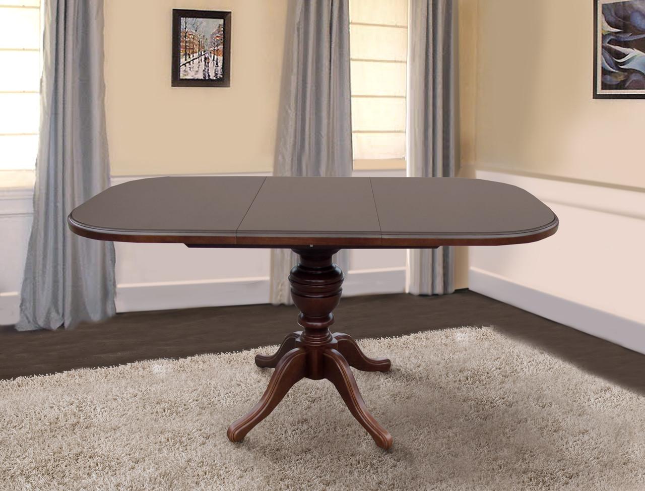 Стол обеденный Триумф темный орех (Микс-Мебель ТМ)