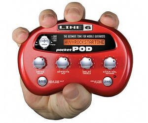 Процессор для электрогитары компактный Line6 POCKET POD