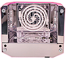 Гибридная ультрафиолетовая CCFL+LED УФ лампа 36W Quick CCFL LED Nail Lamp UKC выдвижное дно AVE, фото 9