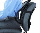 Упор поясничный Seat Back сетка, поддержка поясницы, для спины AVE, фото 2