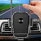 Автомобильный Держатель для Телефона с Беспроводной Зарядкой Wireless Сharger K81 AVE, фото 5