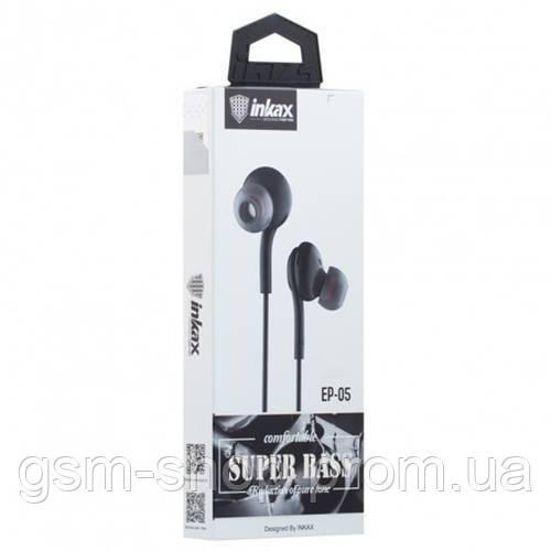 Навушники Inkax EP-05 (Чорний)