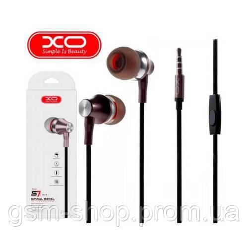 Навушники XO S7 (Сірий)