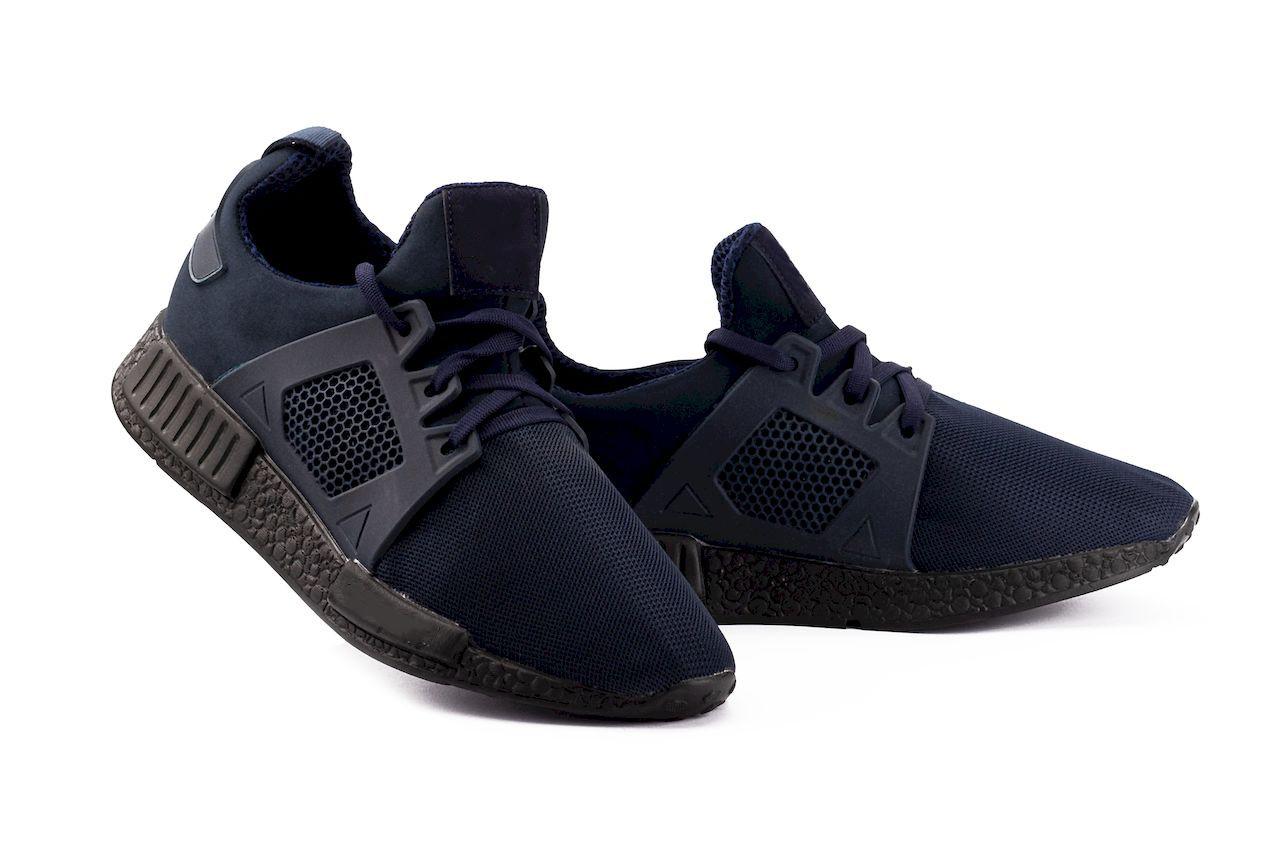 Чоловічі кросівки текстильні літні сині Brand АХ