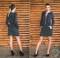 Черное платье 15878