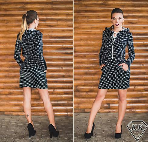 Черное платье 15878, фото 2
