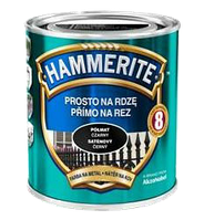 Hammerite с Полуматовым эффектом, Темно-зеленая 2.5 л