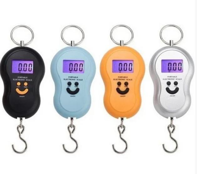 Кантерные цифровые весы с батарейками в комплекте смайлик от 0,01гр до 50кг AVE