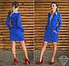 Платье 15878, цвет электрик