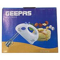 Ручной миксер GEEPAS GHM-6615 + ПОДАРОК:Магнитный календарик на холодильник 2021 год