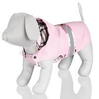 Trixie 67104 Пальто Como 33см розовое с паетками, S (обхват груди 34–42 см, длина спины 33 см)