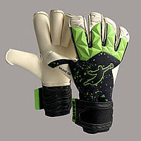 Перчатки вратарские BRAVE GK FURY 2.0 GREEN PAINT DROPS