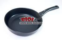 """Сковорода алюмінієва 26см (глибина 6,8 см) з антипригарним покриттям БІОЛ """"Класик"""" 2607П, фото 1"""