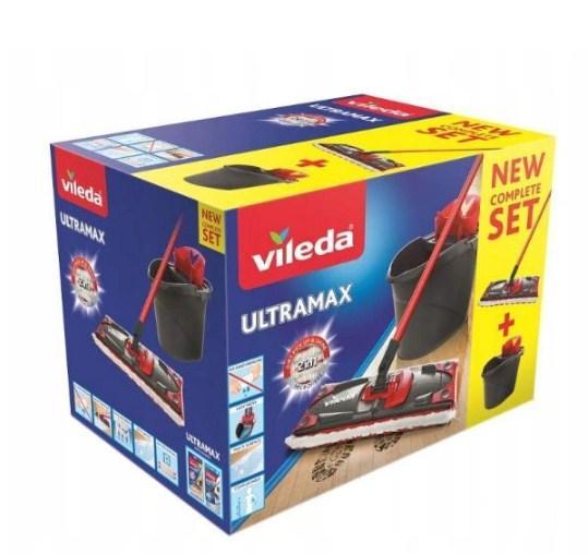 Швабра Vileda Ultramax Box + ведро