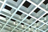 """Подвесные потолки решетчатые """"Пирамидальный Грильято"""" 60х60"""