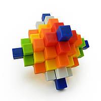 Головоломка цветная Куб   GKR-0351