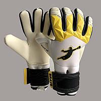 Перчатки вратарские  BRAVE GK FURY 2.0 YELLOW