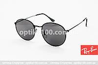 Круглые солнцезащитные очки ДЛЯ ЗРЕНИЯ с диоптриями в стиле Ray-Ban. На небольшое лицо!, фото 1