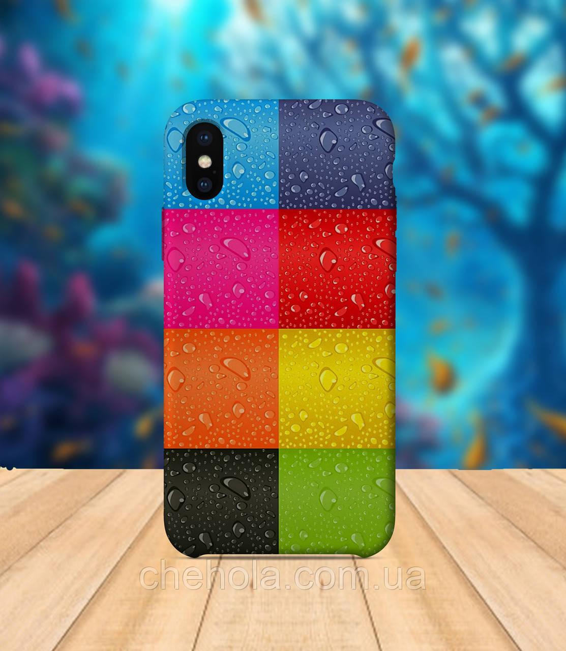 Чохол для apple iphone x XS max Яскраві фарби чохол з принтом