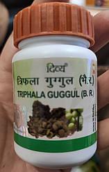 Трифала гуггул (Triphala guggul), 80 таблеток - 40 гр