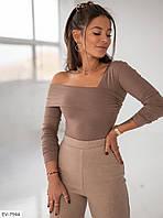 Жіноча кофта на одне плече Віра, фото 1