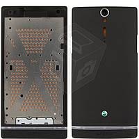 Корпус для Sony Xperia S LT26i - оригинал (черный)