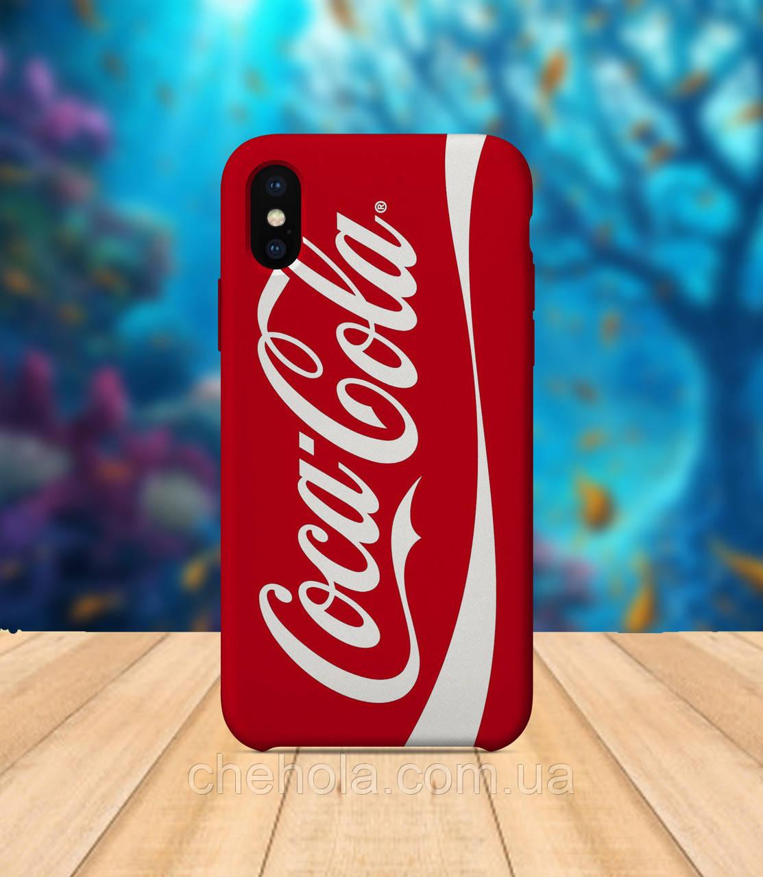 Чохол для apple iphone x XS max Coca Cola чохол з принтом