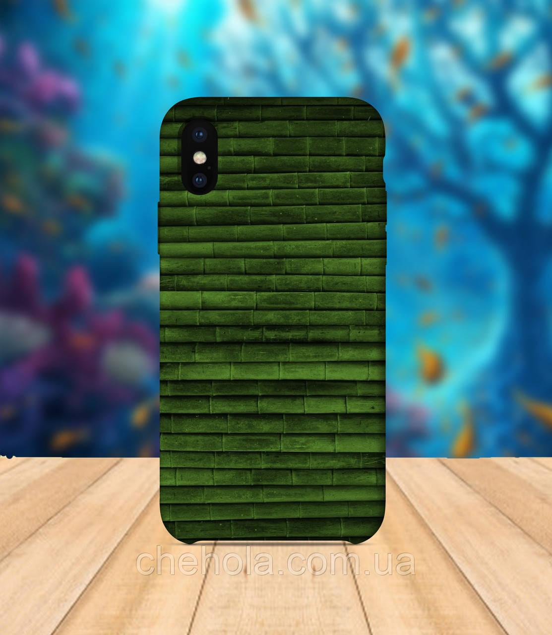 Чехол для apple iphone x XS max бамбук чехол с принтом