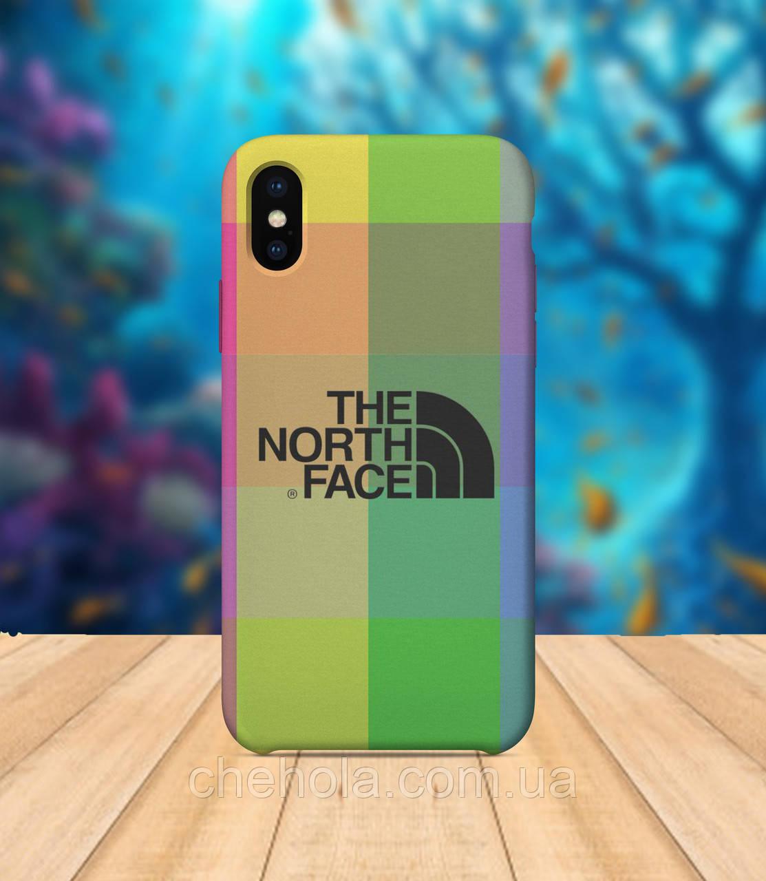 Чехол для apple iphone x XS max В стиле The North Face чехол с принтом