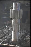 Валы-шестерни  к горно-шахтному оборудованию