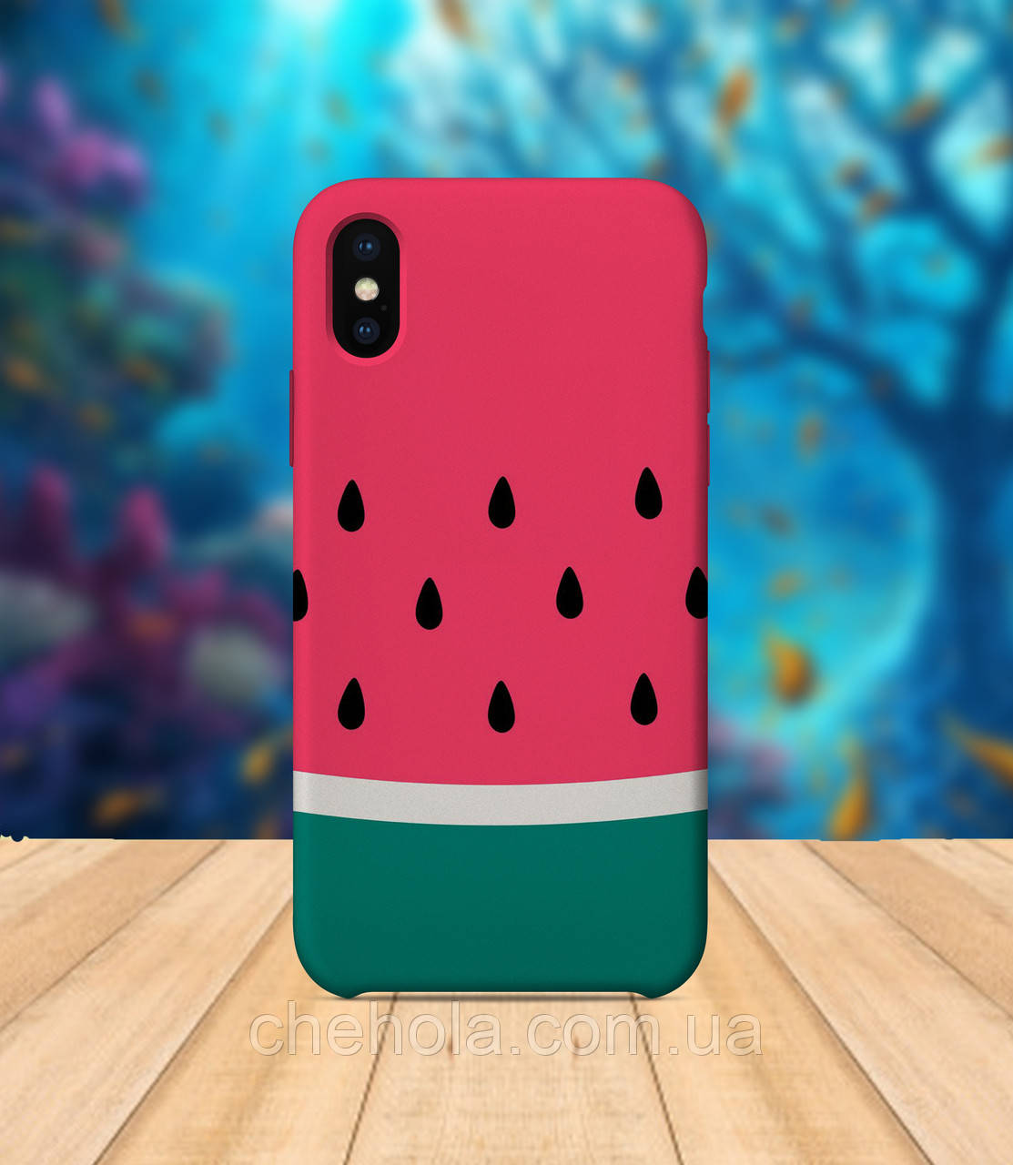 Чехол для apple iphone x XS max Арбузы лето чехол с принтом